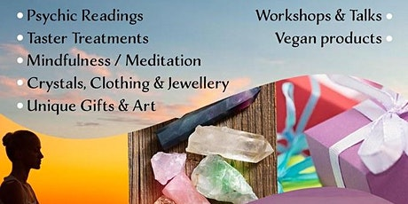 Online Wellbeing/Mind Body Spirit Fair 26th July 2020 tickets