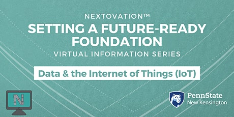 Setting a Future-Ready Foundation: Virtual Session- Data/Internet of Things tickets