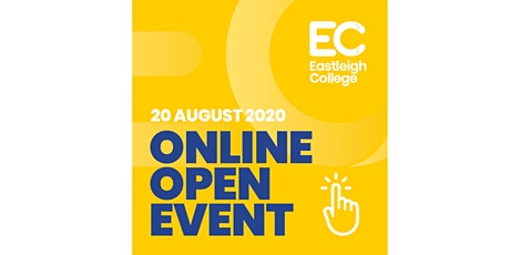 GCSE Results Day - Online Open Event, Eastleigh College tickets