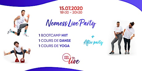 Neoness Live Party billets