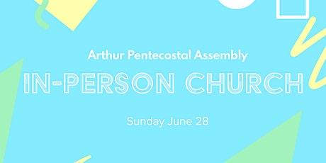 Church July 12 tickets