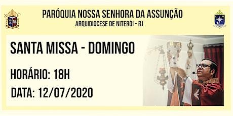 PNSAssunção  Cabo Frio - Santa Missa  - Domingo - 12/07/2020 - 10h ingressos