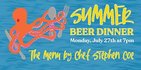 Summer Beer Dinner at the Brewery tickets