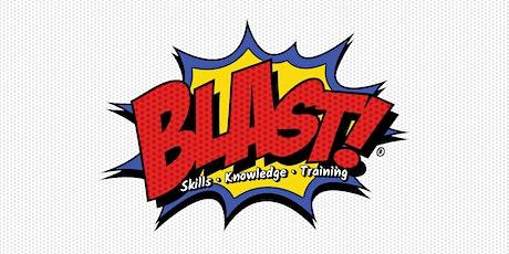BLAST: Skills, Knowledge, Training - Presentation Skills tickets