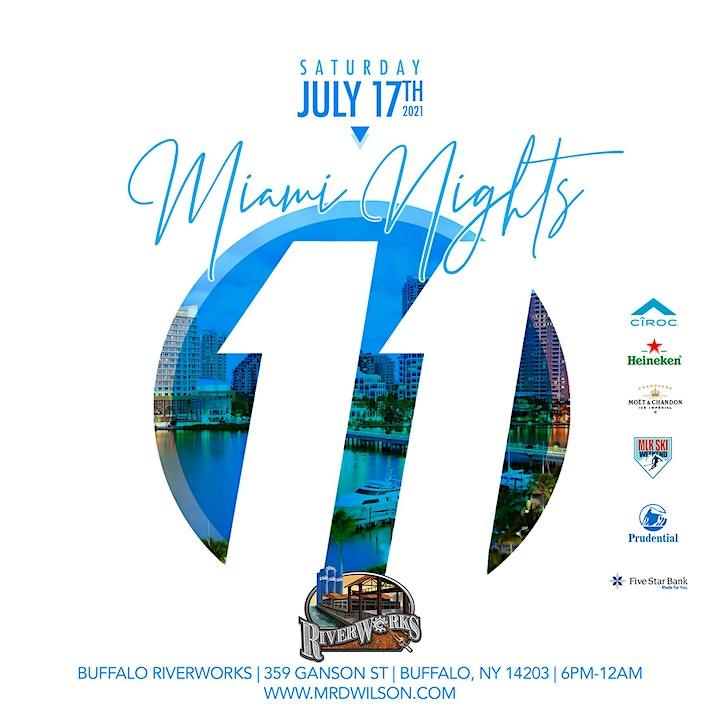 11th Annual Miami Nights All White Affair image