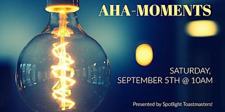 AHA-Moments tickets