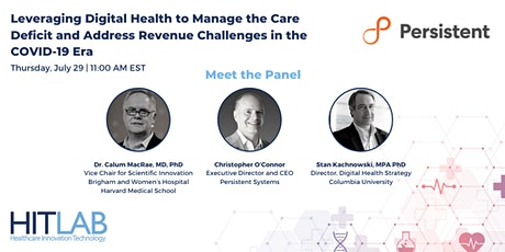 Leveraging Digital Health to Manage the Care Deficit tickets