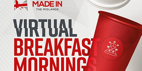 Made in the Midlands Virtual Breakfast Morning with Hayley Group tickets