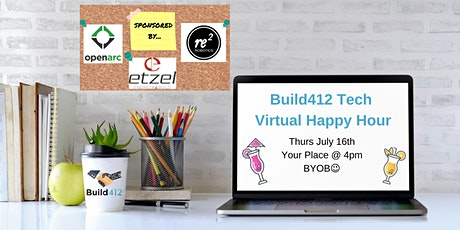 Pittsburgh Tech Happy Hour - Virtual 7/16 tickets
