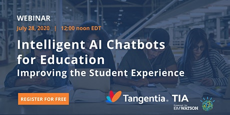 Intelligent AI Chatbots for Education | Tangentia AI tickets