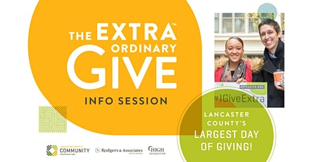 2020 Extraordinary Give Info Session tickets