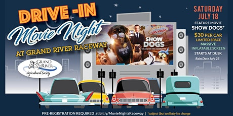 Drive-in Movie Night at Grand River Raceway tickets