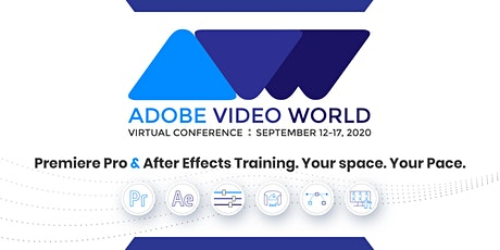 Adobe Video World Online tickets