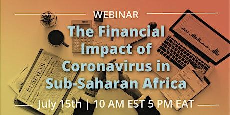 Webinar: The Financial Impact of COVID-19 in Sub-Saharan Africa tickets