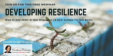 Developing Resilience To Thrive On Challenge and Adversity tickets