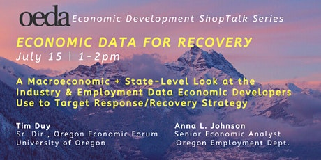 Economic Data for Recovery tickets