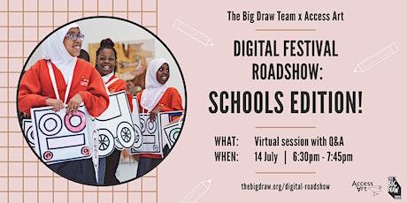 The Big Draw Digital Festival Roadshow: Schools Edition tickets