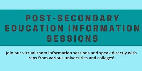 Post Secondary School Seminar :  Seneca College ingressos