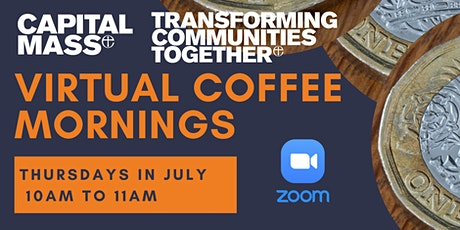Virtual Coffee Mornings for anyone supporting people with money worries tickets
