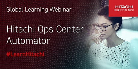 Hitachi Ops Center Automator (in Polish) tickets