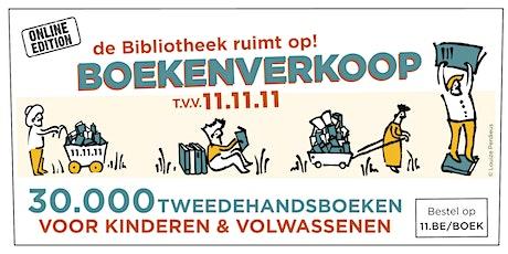Boekenverkoop 11.11.11  Ophaalmoment boekenbundel(s) tickets