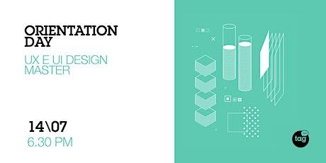 Orientation Day | UX e UI Design Master biglietti