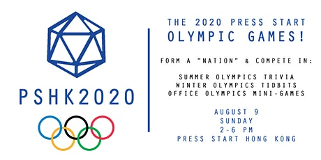 The 2020 Press Start Hong Kong Olympic Games! tickets