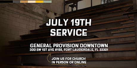 July 19th Service at City Lift Church tickets
