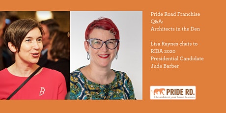 Lisa Raynes chats to RIBA 2020 Presidential Candidate Jude Barber tickets