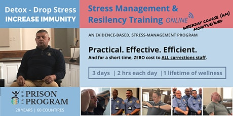 WEEKDAY AM SPECIAL 6-HOUR TRAINING OPPORTUNITY FOR CORRECTIONS STAFF (EDT) tickets