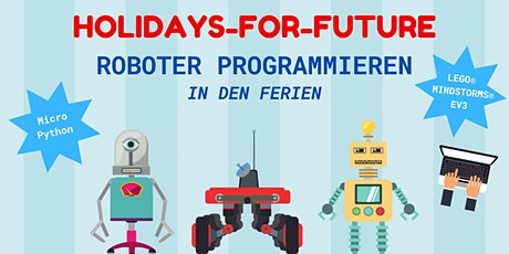 FabLabKids: Holidays for future, Roboter programmieren, 3-tägig tickets