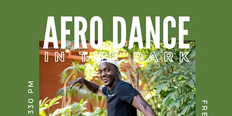 Afro Dance (with Ivan) in the park YEG tickets