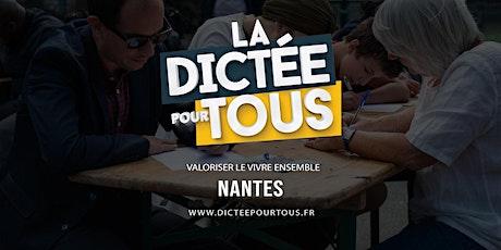La dictée pour tous à Nantes tickets