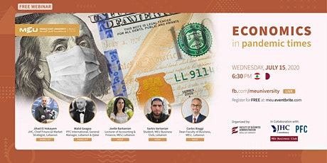 Webinar: Economics in Pandemic Times tickets