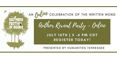 Author Reveal Party - Online tickets