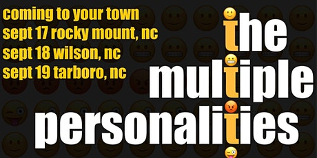 Multiple Personalities Tour Rocky Mt tickets