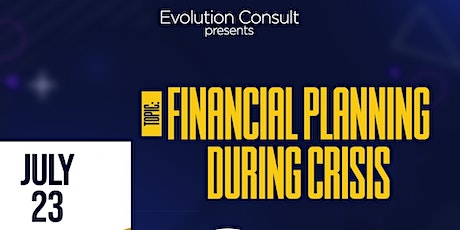 FINANCIAL PLANNING DURING CRISIS tickets