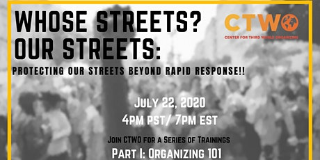 Whose Streets? Our Streets: Protecting Our Streets Beyond Rapid Response tickets