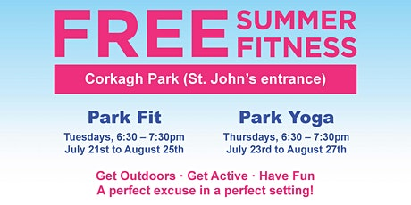 FREE Park Fit/ Park Yoga tickets