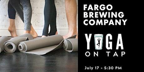 Yoga on Tap - Fargo Brewing Company tickets