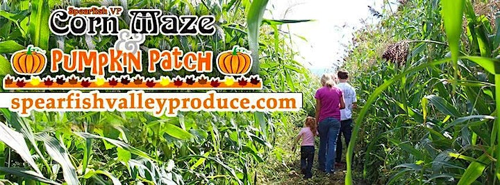 Jalan Crossland and Lacy Nelson at the Spearfish Corn Maze September 19 image