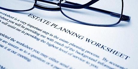 Basic Estate Planning - Free Webinar! tickets