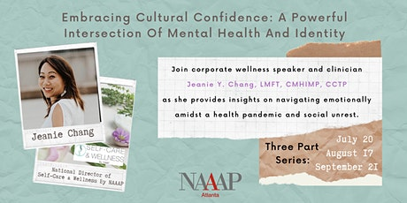 Embracing Cultural Confidence™: Self-Care and Wellness Program tickets