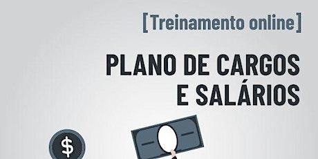 [Treinamento online] Plano de Cargos e Salários ingressos