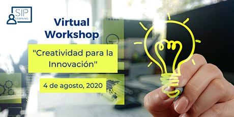 Virtual Workshop: Creatividad para la Innovación entradas