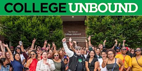 College Unbound Orientation tickets