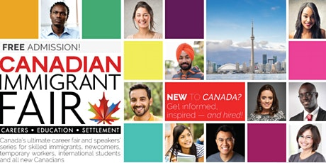 Toronto Canadian Immigrant Fair billets