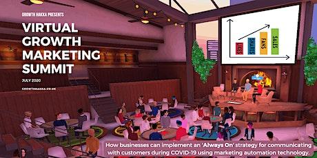 Virtual Growth Marketing SUMMIT July 2020 tickets