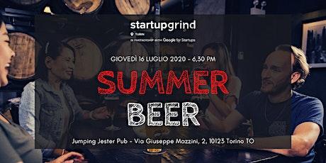 Startup Grind Summer Beer biglietti