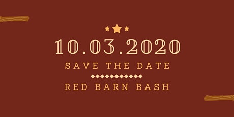 2020 Red Barn Bash tickets